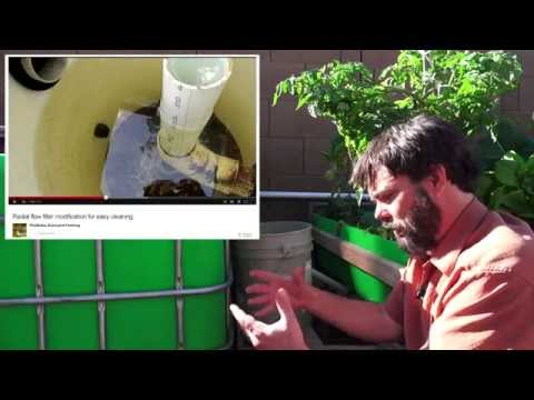 Aquaponics System Plumbing