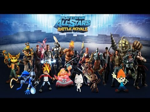 PlayStation All-Stars Battle Royale - recenzja (review PL) PS3 PS Vita