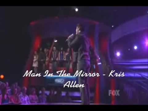 Man In The Mirror - Kris Allen (Video)