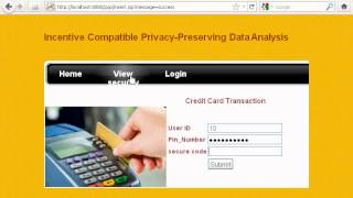 GRIETCSE14 Incentive Compatible Privacy Preserving Data Analysis