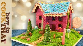 My Gingerbread House Recipe 2017 | How To Cook That Ann Reardon