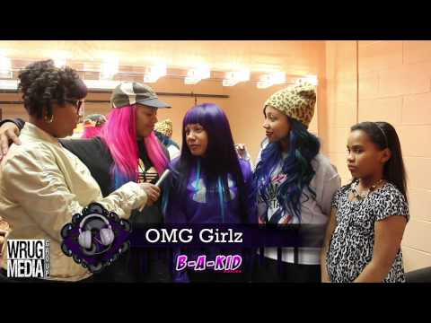 The OMG Girlz Live INTERVIEW w/ BE - A- KID ONLINE AND WRUG MEDIA