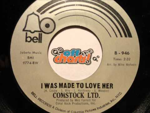 Comstock Ltd. - I Was Made To Love Her 45 RPM 1970 OffTheCharts365