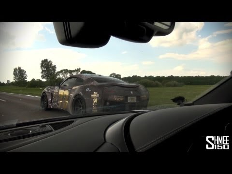 Gumball 3000 2013: Team Galag TG1 - Custom Built Supercar