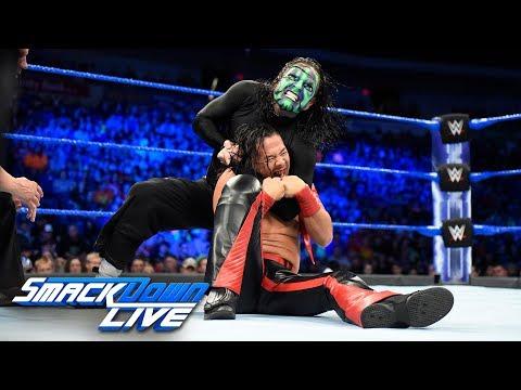 Jeff Hardy vs. Shinsuke Nakamura - United States Championship Match: SmackDown LIVE, July 17, 2018