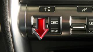 2013 NISSAN GT-R - Transmission and Suspension Setup Switches
