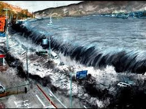 Incredible Footage Of  Incoming Tsunami Japan video
