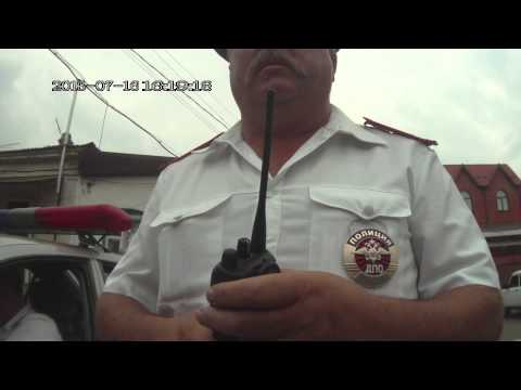 Ставрополь, нарушители и вруны из спецроты ГИБДД