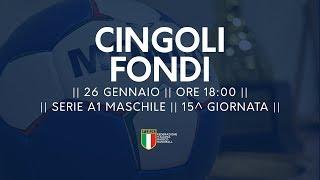 Serie A1M [15^]: Cingoli - Fondi 27-22