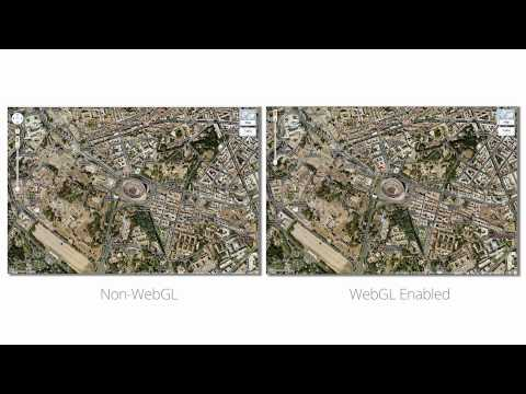 Google Maps meets WebGL