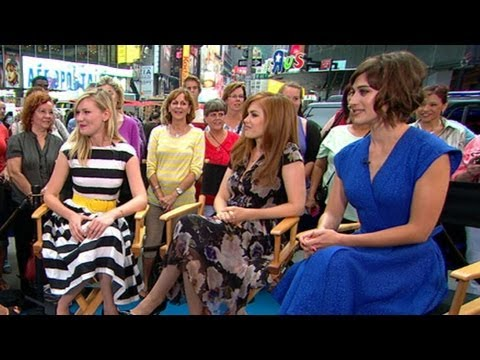 Kirsten Dunst, Isla Fisher, Lizzy Caplan Discuss New Movie 'Bachelorette'