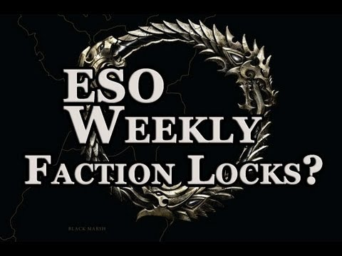 Elder Scrolls Online Weekly - Faction Locked Territories Hot Button Debate