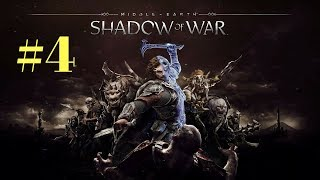 SHADOW OF WAR Walkthrough/Gameplay/Oynanış/TÜRKÇE/PART 4/(Middle-Earth)