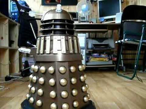 My Voice Controlled Dalek.