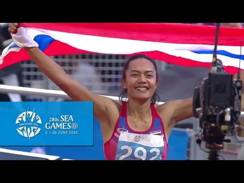 Athletics Womens 100m Hurdles Final (Day 6) | 28th SEA Games Singapore 2015