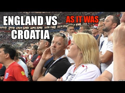 ⚽ England vs Croatia - World Cup 2018 - As It Was... (Fancam) ⚽ thumbnail
