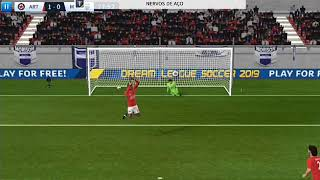 Vídeo  de gol de  pênalti para status no Dream league soccer 2019 !!!