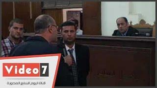 بالفيديو.. سعد الحسينى لقاضى غرفة عمليات رابعة: أزيلوا هذا القفص لنتواصل معاكم