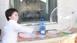 Giant Bubbles Playtime Recipe