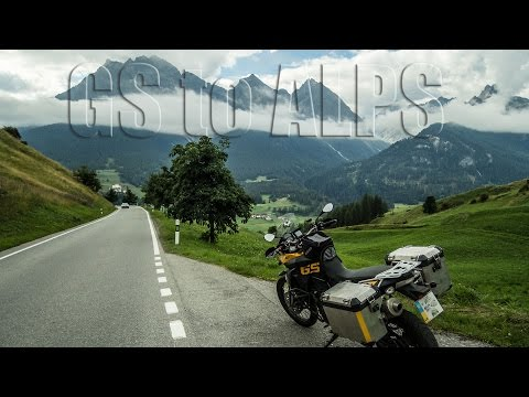 Moto travel to the Alps 2015 - BMW F800GS