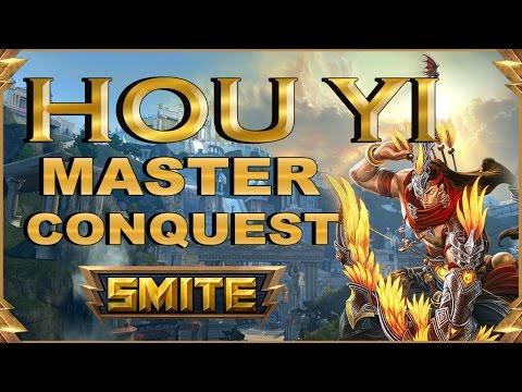SMITE! Hou Yi, Y decian que no lo sabia usar ;)! Master Conquest S4 #35