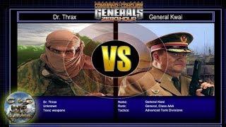 C&C Generals Zero Hour Challenge Toxin 01: Dr. Thrax x Gen. Kwai [HARD]
