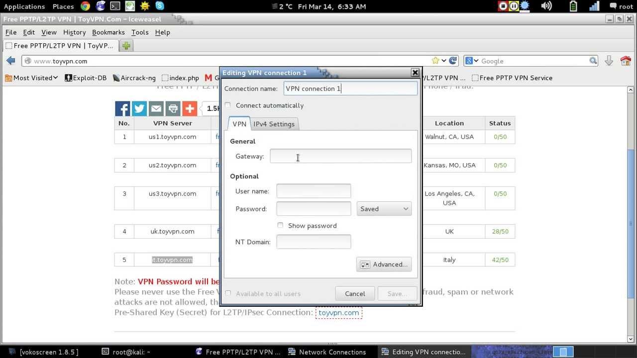 How to access remote desktop via vpn
