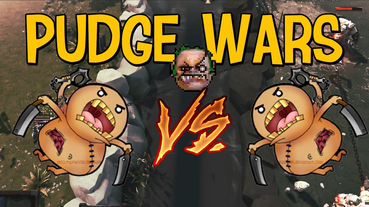 Смотреть Pudge wars: обзор карты в Dota 2 Видео. Прохождение и обзоры игр.