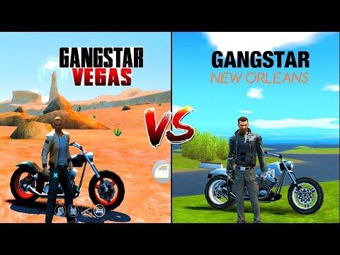 Gangstar New Orleans VS Gangstar Vegas Comparison. Which one is best?