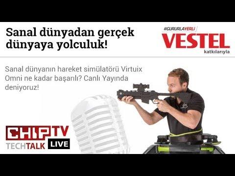 Virtuix Omni'yi Canlı Yayında Denedik! - CHIP Tech Talk