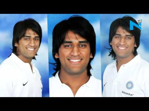 Stylish looks of Mahendra Singh Dhoni