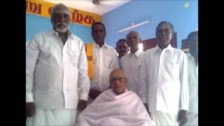 Daeiou Thiru.Ooran Adigalar speaks at a Silver Jubilee Function!