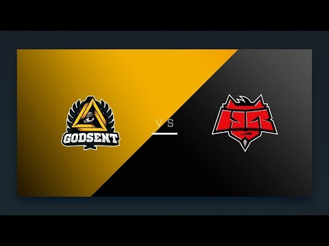 CS:GO: GODSENT vs. HellRaisers [Cache] Map 1 - EU Final Day - ESL Pro League Season 6