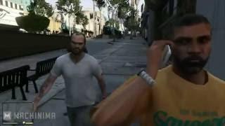 GTA 5 Глюки, баги и забавные моменты в игре