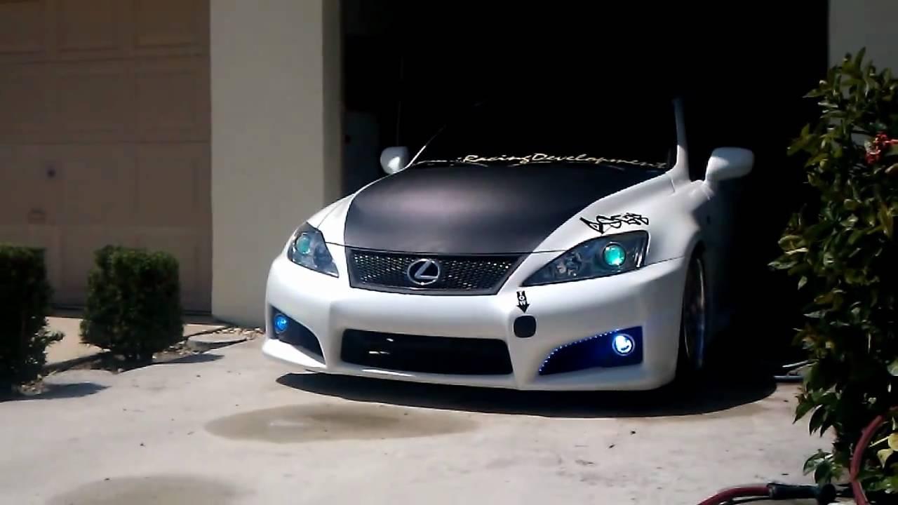 custom isf is250is350 youtube
