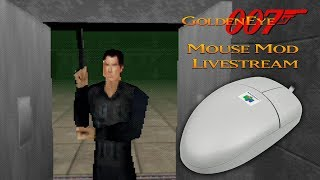GoldenEye 007 N64 - Mouse controls on a real N64!