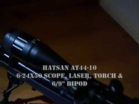 HATSAN AT44-10 .177 CAL 4.5MM AIR RIFLE.wmv