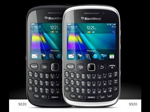 Unboxing Blackberry Curve 9320