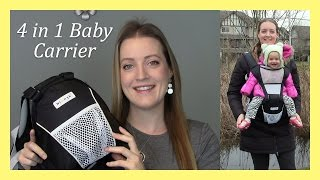4 in 1 NimNik Baby Carrier with Hip Seat! A Must Try!!| Allison's Journey