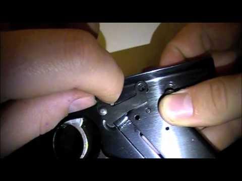 Ruger Mk II Trigger Frame/sear disassembly/reassembly Pt. 3/3