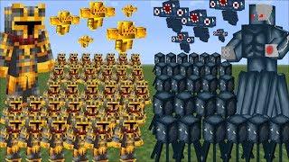Minecraft 1000 SQUID ARMY VS 1000 MC NAVEED ARMY BATTLE / FIGHT TILL DEATH MOD!! Minecraft