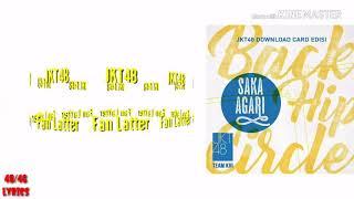 Download Lagu JKT48 ~ Fan Latter MP3
