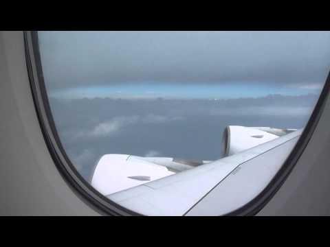Emirates A380.800 Dubai To Amsterdam Business Class Full Flight.