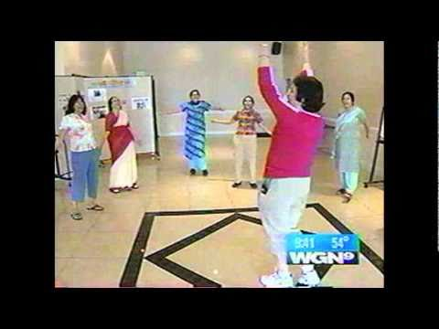 Laughter Yoga in the Medical Watch WGN 9 Chicago