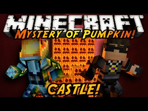 Minecraft: Mystery of the Pumpkin Castle Part 1!