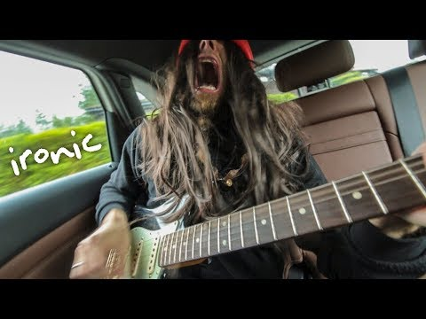 Ironic (metal cover by Leo Moracchioli)