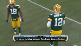 Patriots @ Packers 2014 (Week Thirteen)