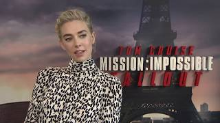 MISSION IMPOSSIBLE 6 Fallout Vanessa Kirby Interview