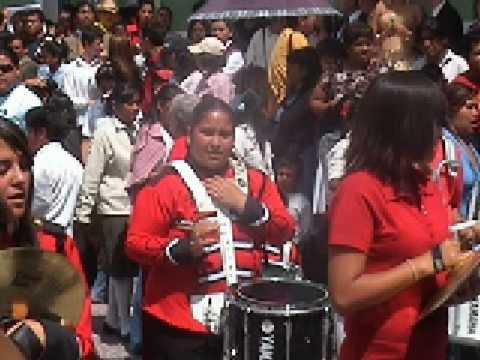 Tigres vs Guerreros, marching bands