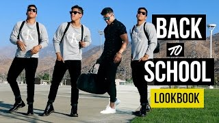 BACK TO SCHOOL/COLLEGE OUTFITS IDEAS (MEN'S FASHION)